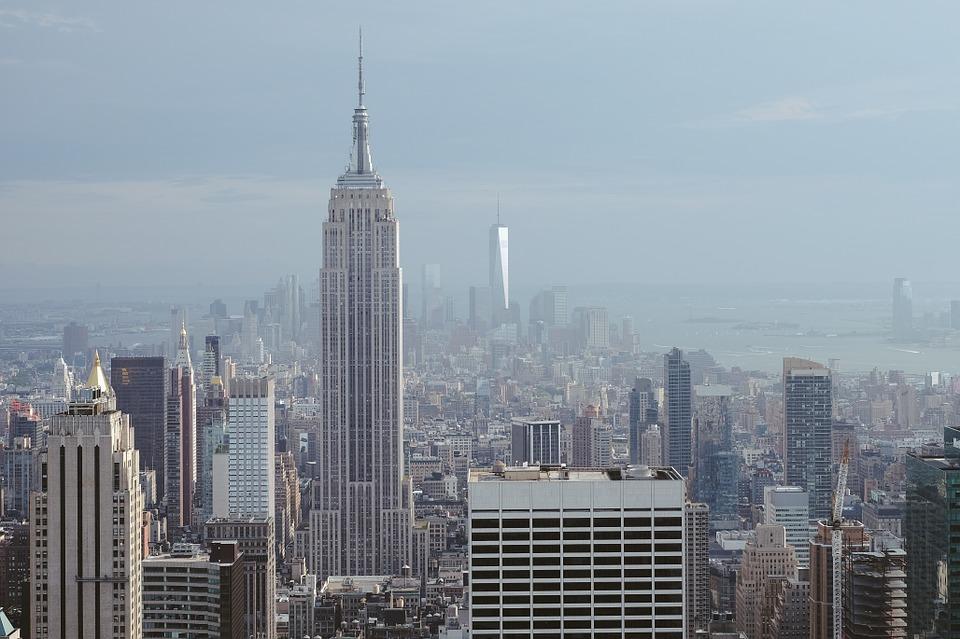 column van de dag new york groot groter 39 t grootst. Black Bedroom Furniture Sets. Home Design Ideas