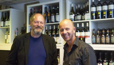 Rien Doorn (l) en Pascal Weidijk (r)