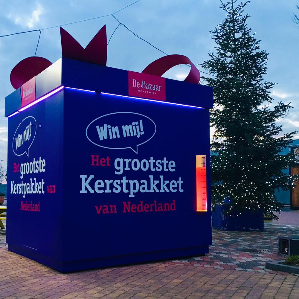 De Bazaar Geeft Het Grootste Kerstpakket Van Nederland Weg Beverwijk