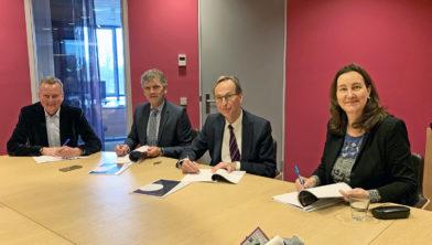 Burgemeesters IJmondgemeenten odertekenen samenwerkingsovereenkomst