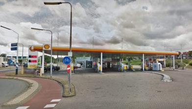 Shellstation aan de Dokweg in IJmuiden
