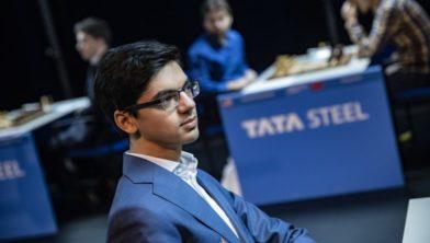 Anish Giri opnieuw Neerlands Hoop tijdens 83e editie Tata Steel Chess Tournament