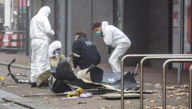 NFI verricht onderzoek naar de explosie in de Beverhof