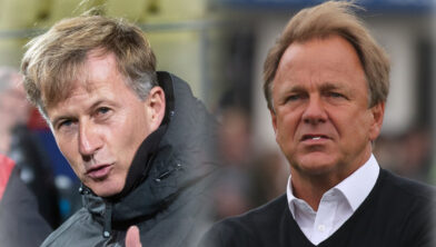 Clash tussen trainer en oud-trainer Telstar valt uit in voordeel Mike Snoei