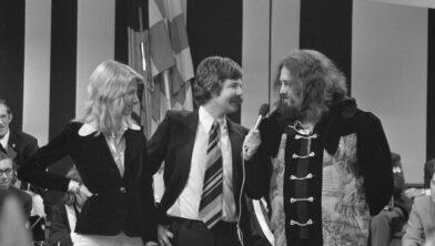 Chiel Montagne met Mouth en MacNeal in 1974