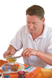 man-brood-groente
