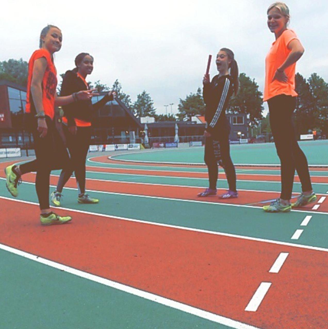 training Anne van de Wiel