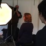 Roodharigen prive photoshoot