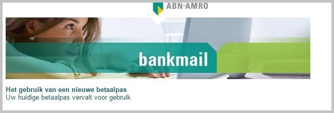 Fragment mail 'ABN-Amro'