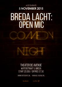 Breda Lacht Comedy Night