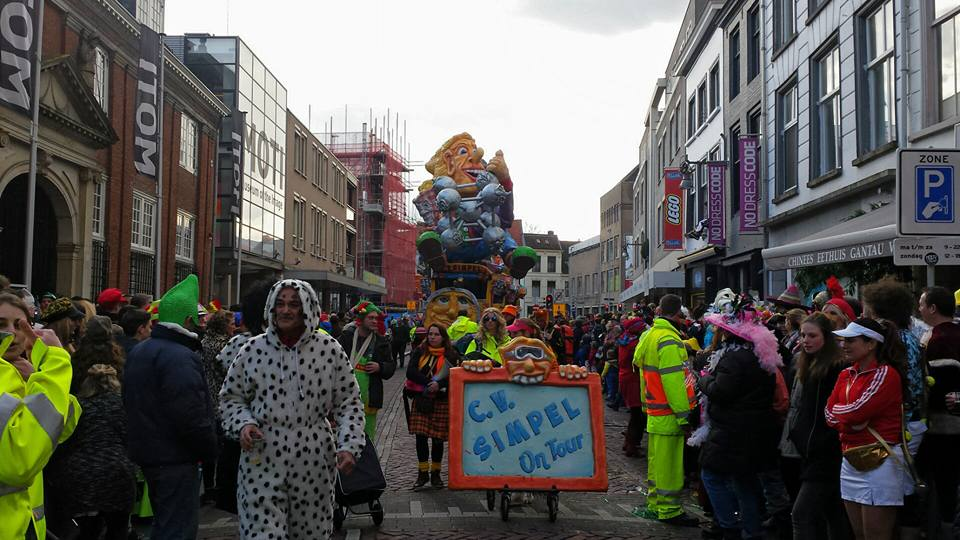 Optocht Kielegat Boschstraat 6 maart 2016