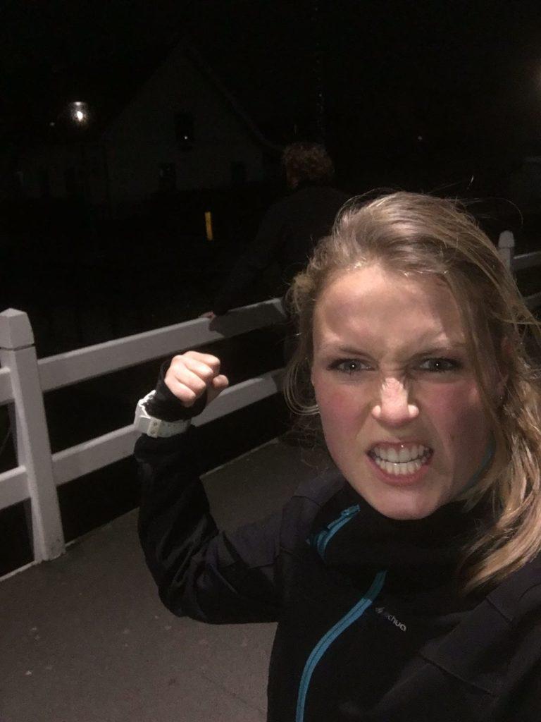 personal trainer Gwen