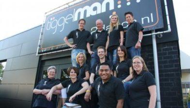 het team van Tiggelman
