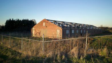 Nederland, Heusden, 16-02-16 Een boerderij in Heusden. © Photo Merlin Daleman