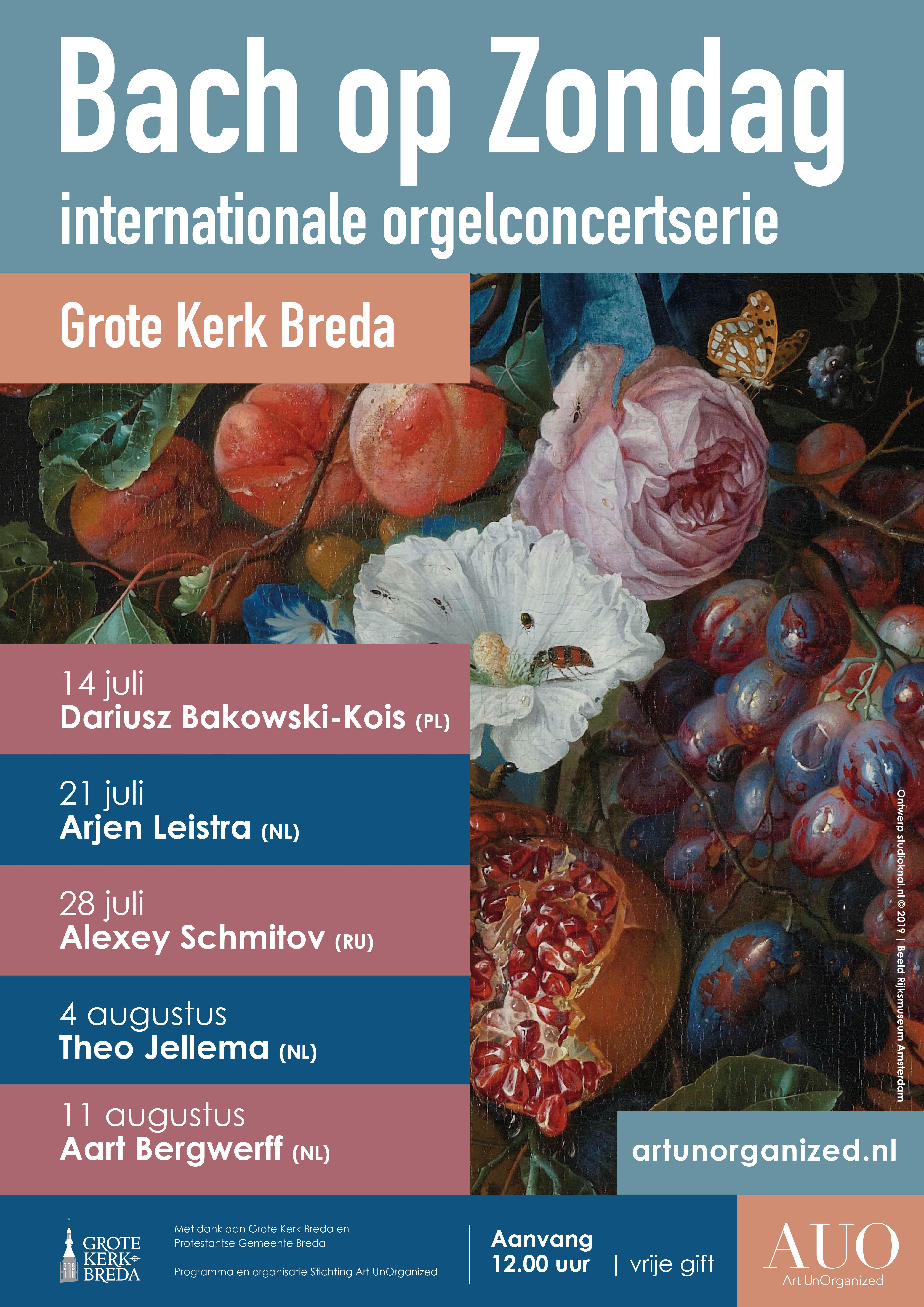 Bach op Zondag in Breda