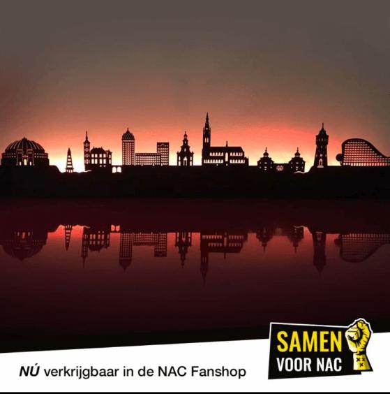 NAC Breda kapstok