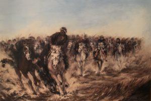 Schilderij Afghaans