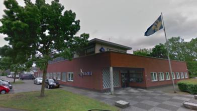 Het politiebureau in Maarheeze