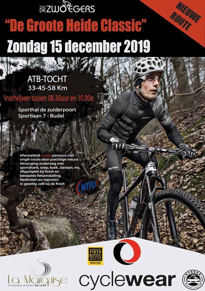 TWC De Zwoeger Budel Groote Heide Classic 2019 ATB-Tocht Budel - TWC De Zwoegers