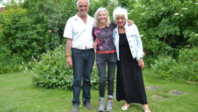 vlnr: Ronald, Henriette, Kikki