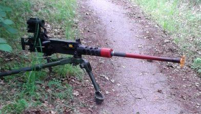 De onbeheerde machinegeweer