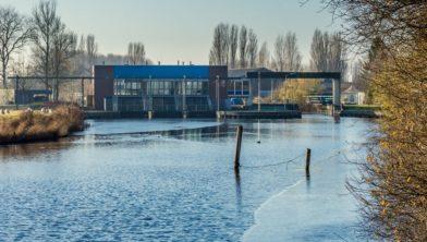 Het H.D. Louwesgemaal in Zoutkamp.