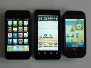 group-of-smartphones