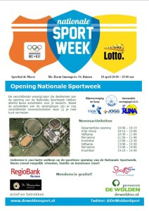 sportweekposter