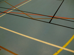 Gymzaalvloer The Akermarks  Foter CC BY