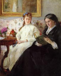 Moeder en zus van Berthe
