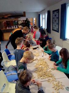 nestkastjes bouwen Boerhoorn- foto Joop Verburg