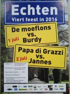 Poster Echtens feest 2016
