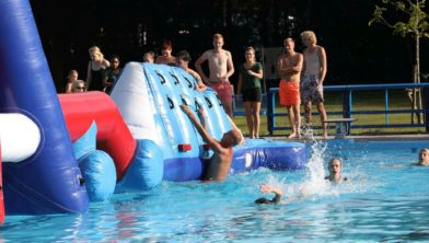 Zwembad de Waterlelie Zuidwolde, zeskampspel