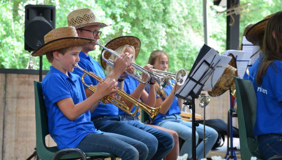 Bergklanken jeugd in concert.