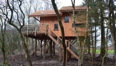Met de realisatie van Boomhutten worden vakantieparken ook een stuk vitaler, zoals hier bij Westerbergen in Echten.
