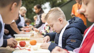 Bourgondisch koken met kids. Provincie Drenthe COPYRIGHT MARCEL JURIAN DE JONG