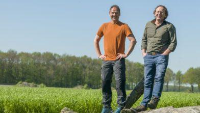 Richard Veldboer (links) en Edward Doorten.