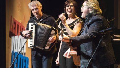Assen: Letter voor letter festival in DNK. Met Carola Smit en Rene Karst.  COPYRIGHT MARCEL JURIAN DE JONG