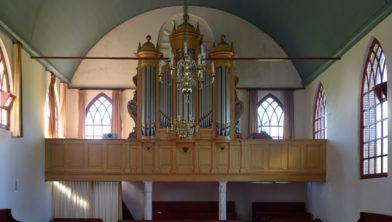 Proper orgel in Koekange