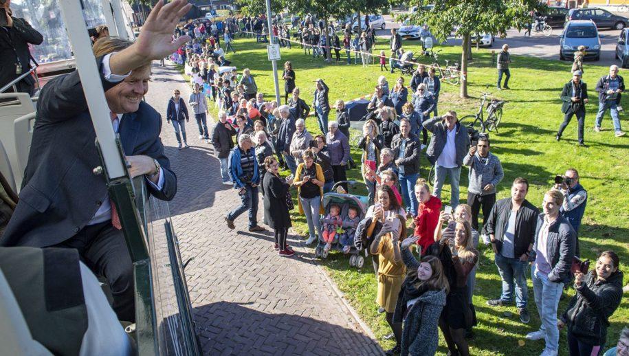 Weiteveen: Foto's opening schaapskooi Bargerveen in Drenthe. COPYRIGHT MARCEL JURIAN DE JONG