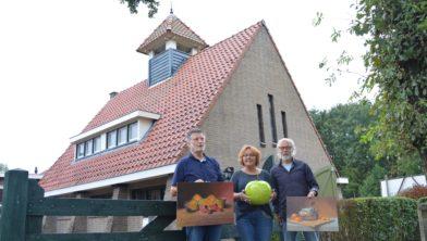 Van links naar rechts Henk Baas, Emmy Fieten en Henk Eefting.