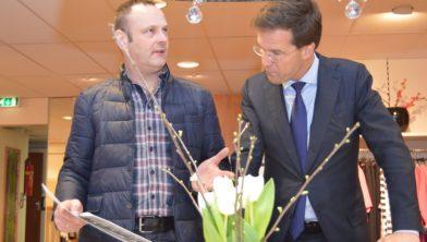 In 2014 bracht premier Mark Rutte nog een bezoek aan de zaak van de familie Dekker.