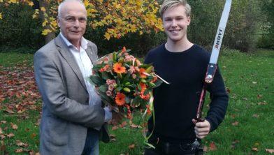 Felicitaties voor Gijs Broeksma