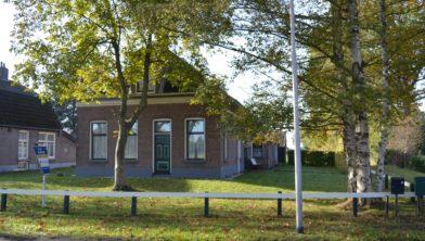 De woning aan de Koekangerdwarsdijk 41.