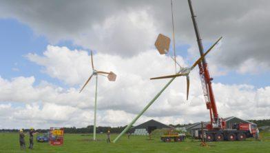 EAZ windmolens.