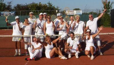 Tennisplezier.