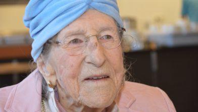 Betsy Cole uit Zuidwolde 107 jaar