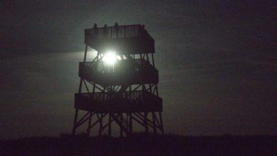Volle maan in Aekingerzand.