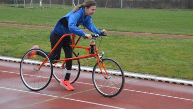 Juliëtte in actie op de Race|Runner.