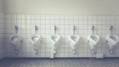 Sluiting openbare toiletten.
